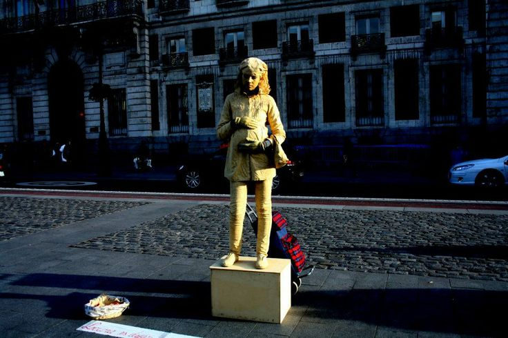 Street artiste, Sol, Madrid.