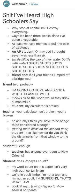21 Hilarious Tumblr Posts To Learn When You are Bored In Class