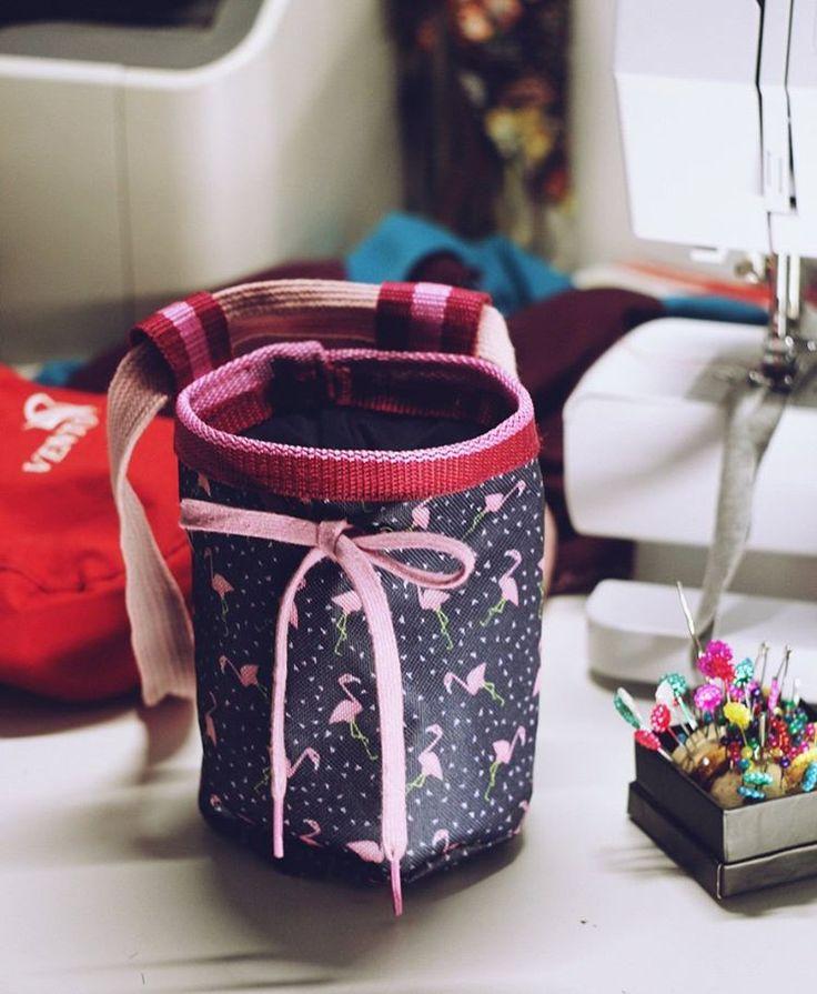 Бафнула свое лазанье до ванильки)  #climbing #chalkbag #sewing #handmade #flamingo #дитязаката #андрейзаставьменятренироваться