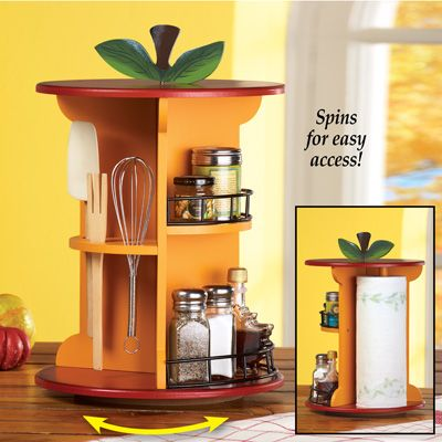 Country Apple Countertop Organizer