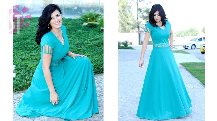 Vestidos - Moda Evangelica   atacado - revenda