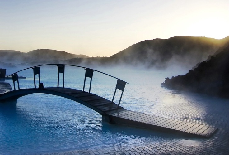 The Blue Lagoon Hotel Clinic. Grindavik, Islandia