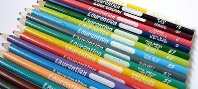 A Penchant for Paper: Laurentien Coloured Pencils