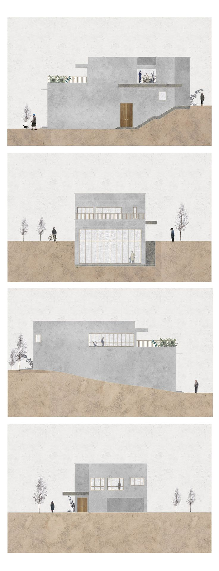 Best Elevation Drawing Ideas On Pinterest Architecture