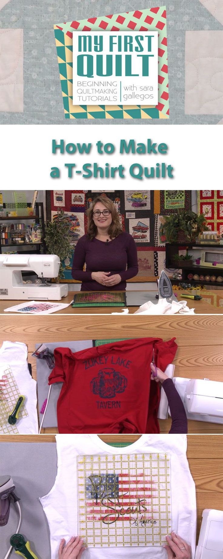 Ready to make a T-shirt quilt? Here's what you need to know before you get started: