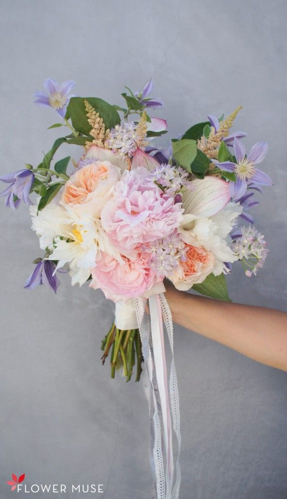 57 best images about spring wedding flowers on pinterest for Pastel colored flower arrangements