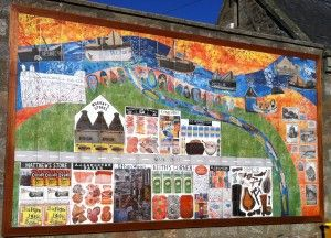 Tiled Space produced this fab digitally printed tiled mural for a school in Newburgh as part of a community art project.