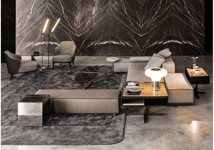 Yang modular sofa minotti milia shop interior design for Divano wonder