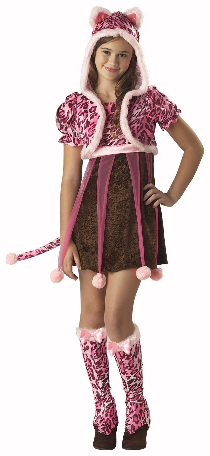 Awesome Costumes Kutie Kitten Tween Costume just added.