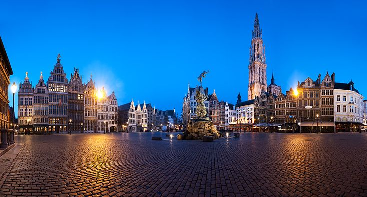 Feeling drawn to Belgium. Antwerp's a reason.