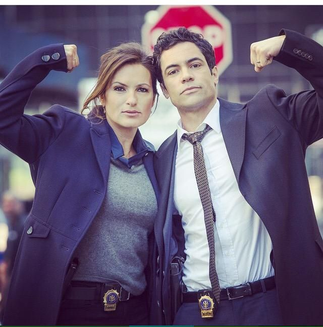 Mariska Hargitay and Danny Pino - Law and Order SVU