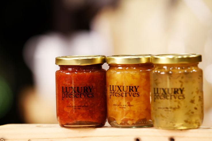 Luxury Preserves:  Wine jams and jellies.  Signature wine accessories of Hatten Wines, Bali.  Find them at The Cellardoor, wine lifestyle boutique.