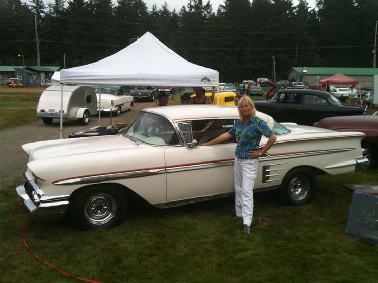 Candy Clark From American Graffiti 1958 Chevy Impala Sport