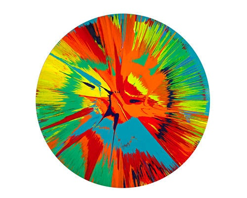 Spin Painting | Damien Hirst