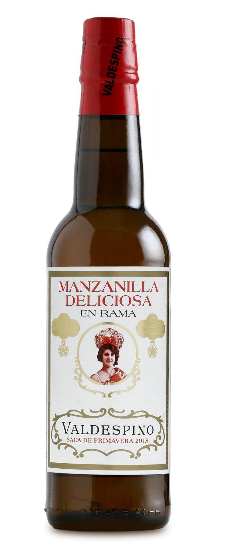 Valdespino Manzanilla Deliciosa en Rama Sherry 0,375 Liter