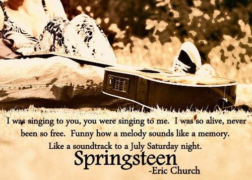 Springsteen-Eric Church