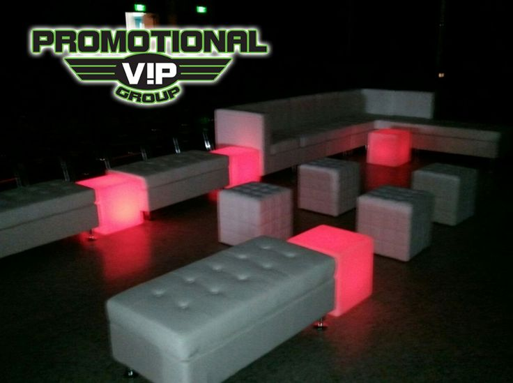 Trend PVG Lounge Furniture rentals red is the color of the night PromotionalVIP