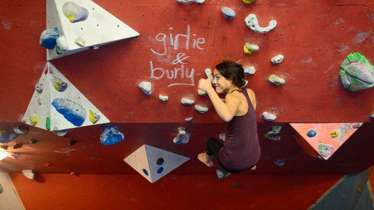 How burly are girls? A film by Xian Goh about women who climb.- This video shows the importance of self motivation, especially for women climbers. As women, we are often overlooked in climbing for not being strong enough or tough enough. It takes a lot of self motivation to push yourself to work to be stronger, and therefor be able to do harder moves. This video emphasizes the importance of self acceptance and motivation.