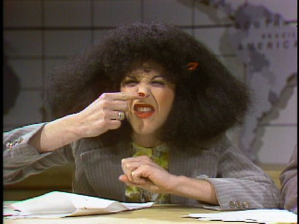 Gilda Radner As Roseanne Roseannadanna At The Weekend