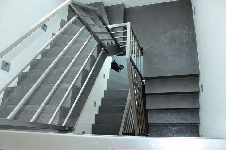 LifeBoxx - Beton Ciré - für Wände, Böden, Treppen, Arbeitsplatten - Farbnr. 54 - Ausführung: Joachim Ezel