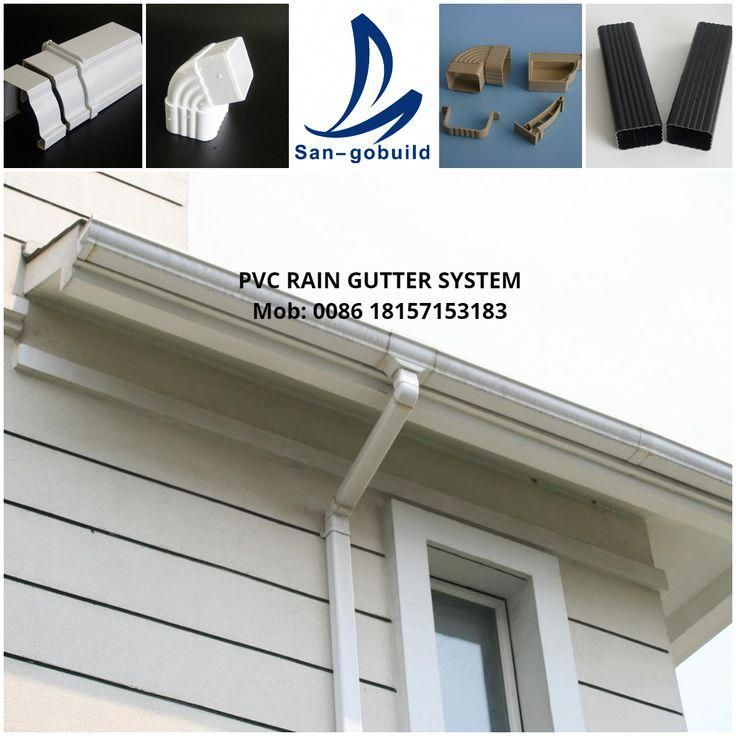 This Particular Gutters Installing Is Honestly A Notable Style Approach Guttersinstalling In 2020 Rain Gutters Pvc Gutters Gutters