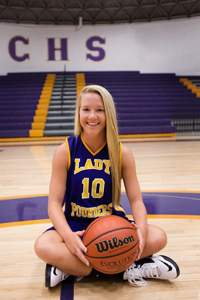 Chattanooga Senior Portraits Central High School Girl's Sports Basketball | Pamela Greer Photography