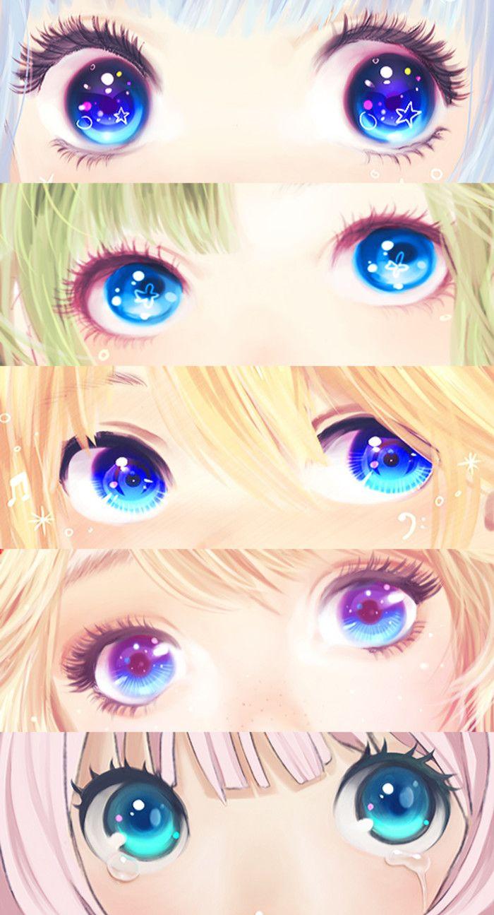 亮晶晶的眼...来自蓝莓雪椰的图片分享-堆糖