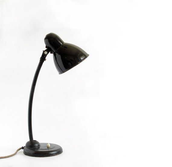 Vintage Desk Lamp Bauhaus Mid Century Germany by OldishButGoldish