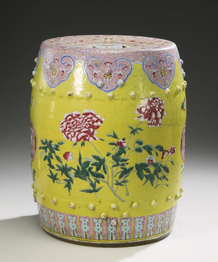 A FAMILLE-ROSE GARDEN SEATu003cbru003eQING DYNASTY 19TH CENTURY | Lot & 56 best chinese stool images on Pinterest | Chinese garden ... islam-shia.org