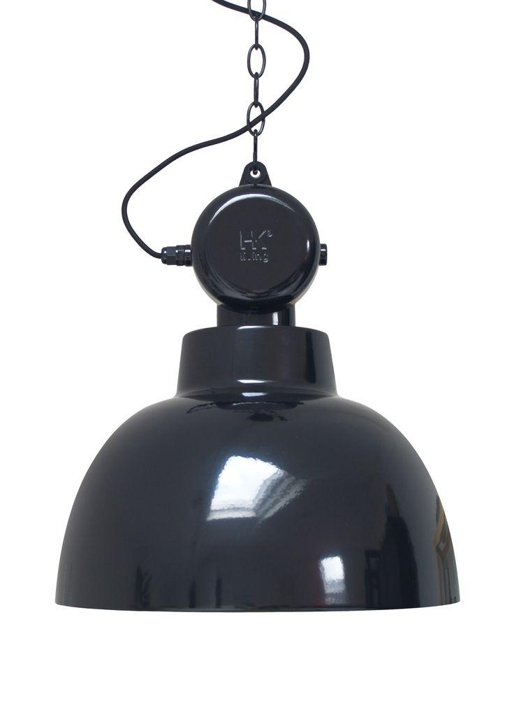 LAMPA FACTORY M CZARNY - HK LIVING cobostore