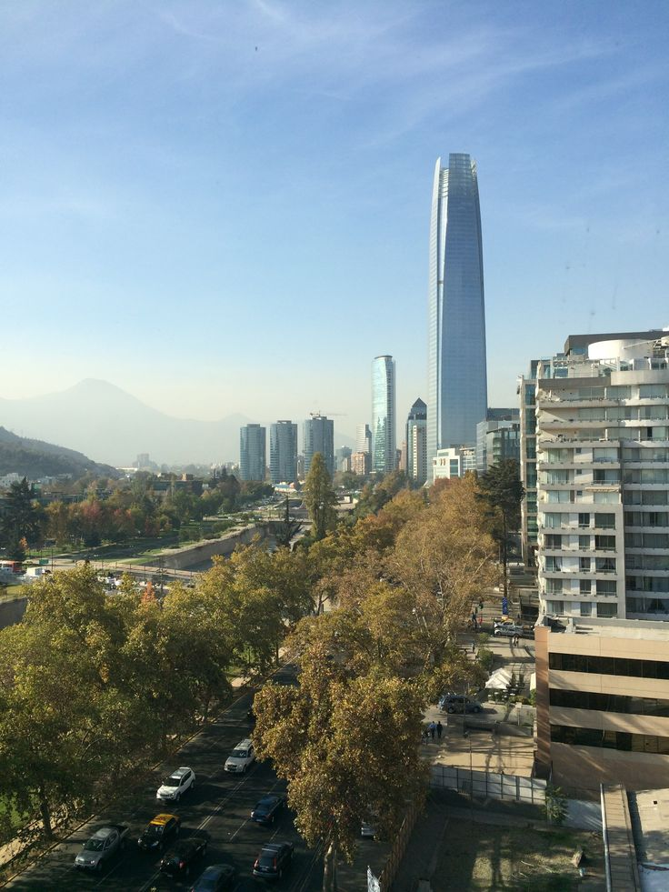 Fall in Santiago de Chile