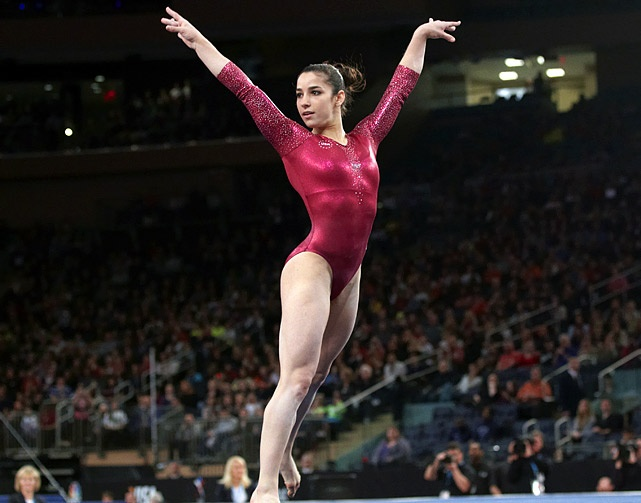 Aly Raisman - U.S. Olympic Gymnastics Team - Photos - SI.com