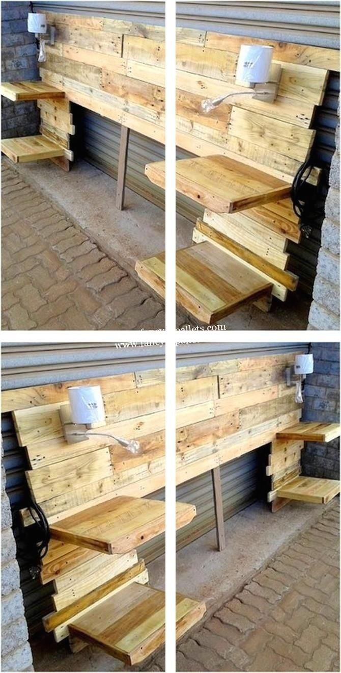Furniture Out Of Pallets For Sale   Making Chairs From ...