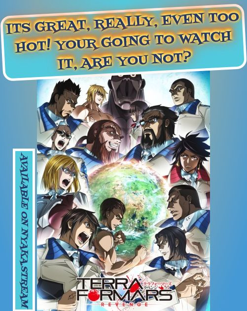 Terra Formars Revenge - watch Online, 100% for Free! Streaming of Full Episodes begins without delay - check for yourself!
