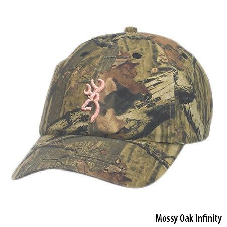Browning Women's Buckmark Cap - Mossy Oak Infinity