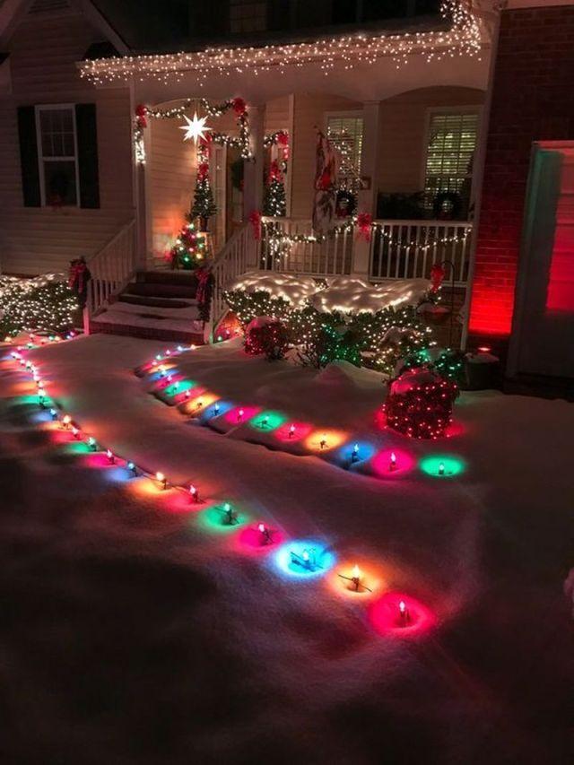 4 Beautiful Outdoor Christmas Decorations Ideas Christmas House Lights Outdoor Christmas Lights Outdoor Christmas Decorations Lights