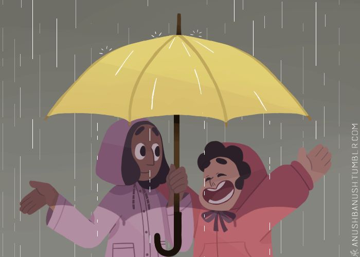 Rainy Season by anushbanush on tumblr