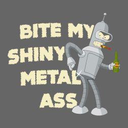 Metal Ass (męska koszulka t-shirt)