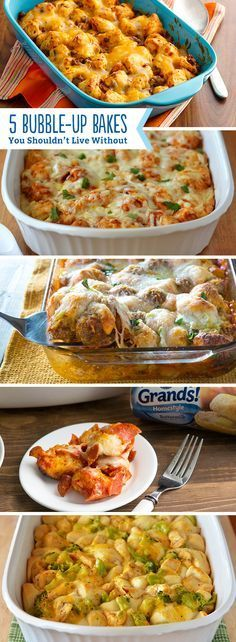 """Bubble-up bakes have a special place in our heart! You can't live with out these easy, delicious and tasty meals. They basically define """"weeknight dinner""""."""