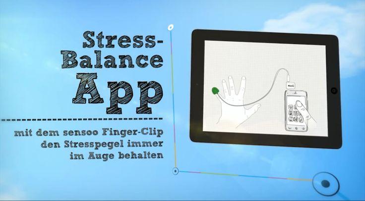 Stress-Balance APP Tipp #healthinbusiness #Stress #Leistungsfähigkeit #Konzentrationsprobleme #Prävention