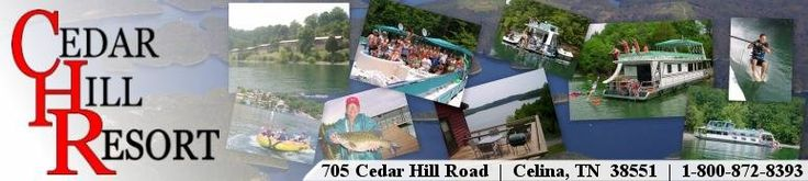 Super 80 Houseboat Rental at Cedar Hill Resort on Dale Hollow Lake in Tennessee.... This would be so much fun for our group vacation!!!