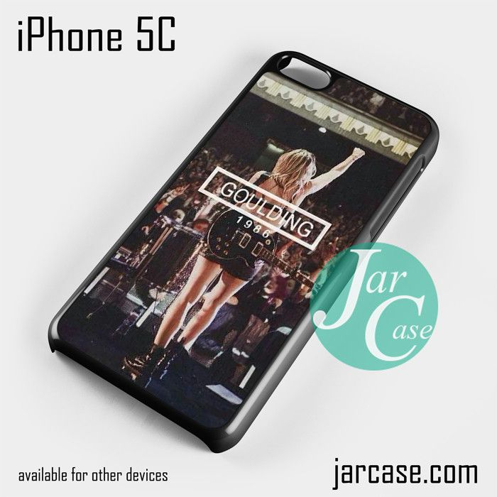 ellie goulding concert Phone case for iPhone 5C and other iPhone devices