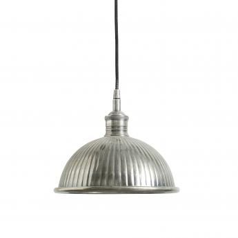 Grooved Dome Hanging Lamp  outthereinteriors.com £139