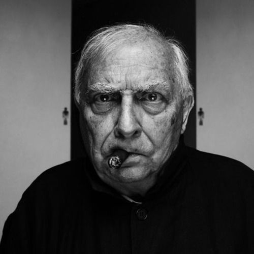 Claude Chabrol (1930-2010) - French film director, a member of the French New Wave (nouvelle vague) group of filmmakers who first came to prominence at the end of the 1950s.