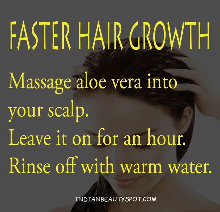 This is so cool!  Hair care with Aloe Vera - More hair growth remedies on - indianbeautyspot.com