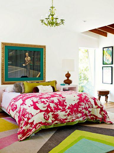 #Anthropologie #PinToWin eclectic bedroom
