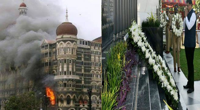 Remembering 26/11: Tributes Paid To Martyrs   Floral tributes were on Saturday paid to those who laid down their lives while fighting terrorists who had attacked the metropolis on this day eight years ago.  Maharashtra Chief Minister Devendra Fadnavis was among the dignitaries who paid homage at the 26/11 police memorial site at the Mumbai Police Gymkhana in south Mumbai.  I pay homage to the brave policemen who fought for Mumbais safety and laid down their lives for us on 26/11. We are…