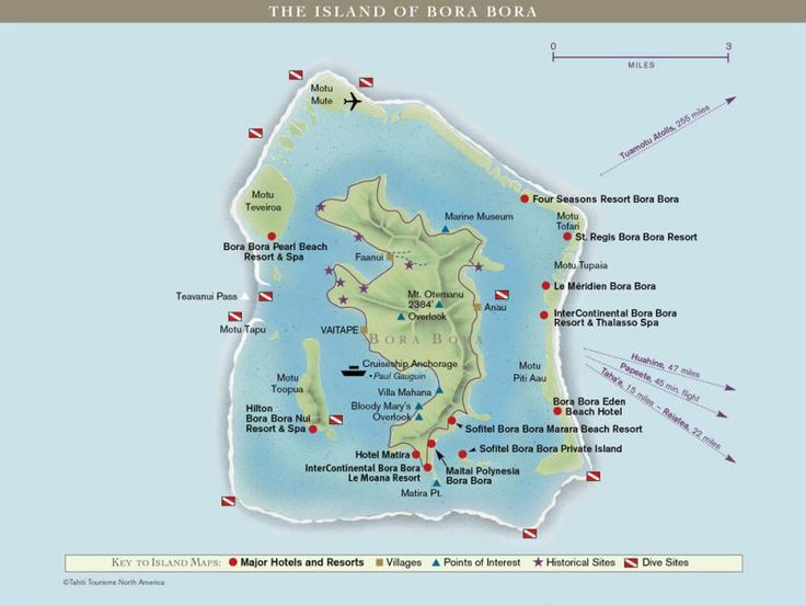 Where Is Bora Bora Located On The World Map New Guinea On
