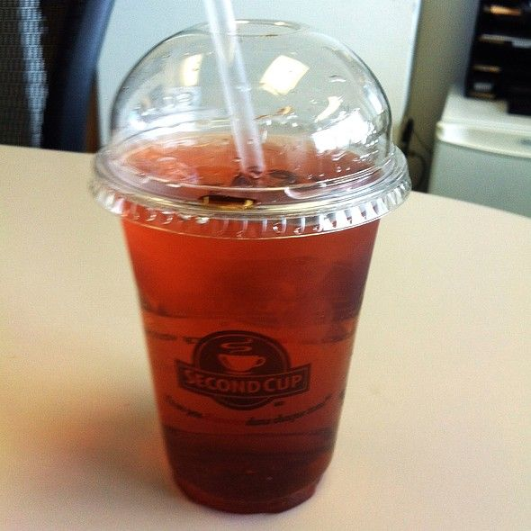 Rootbeer & Black Cherry Italian Soda @ Second Cup