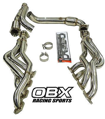 OBX Exhaust Header Manifold For 09 10 12 13 14 Dodge Ram 1500 Hemi Pickup A/T